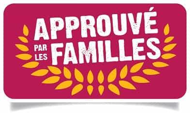 Approuvé par les Familles Logo