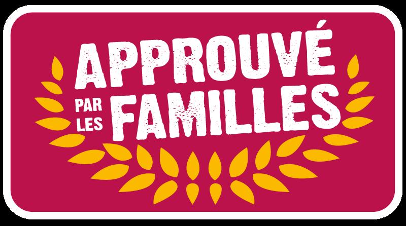 Approuvé par les familles