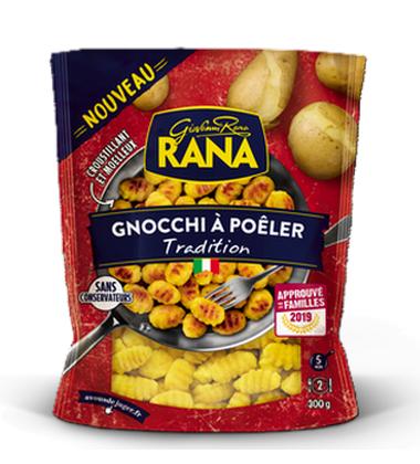 Gnocchi a poeler tradition Giovanni Rana