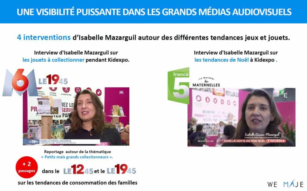 Retombées Presse TV KIDEXPO APLF 2017