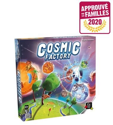 Cosmic Factory lauréat Approuvé par les Familles 2020