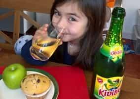 test boisson kidibul enfant approuvé par les familles