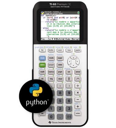 TI 83-Premium CE édition Python