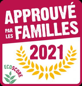 Logo Approuvé par les Familles écoscore 2021