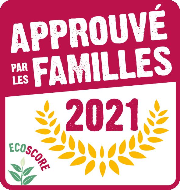 label approuvé par les familles 2021